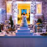 night wedding display