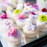 Mini Cupcakes with Flowers