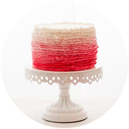 Custom Pink Cake