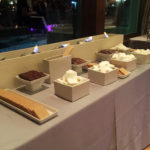 Smores bar at wedding