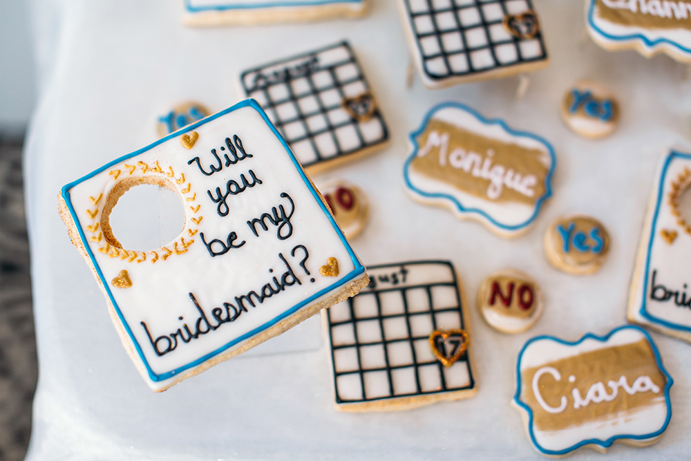 Bridesmaids Cookies