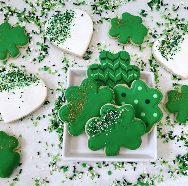 St. Patricks Day Cookies
