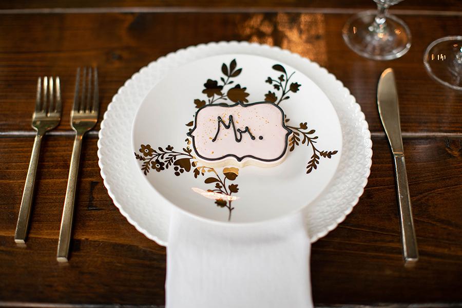 Mr. Wedding Cookie