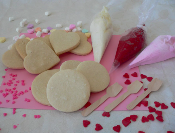 Decorate some cookies this Valentine's