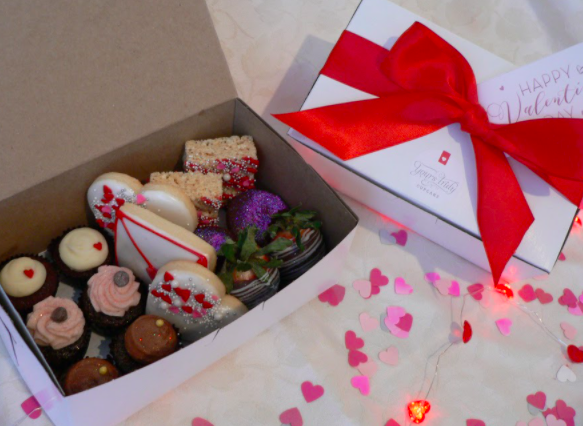 Example Holiday Dessert Box