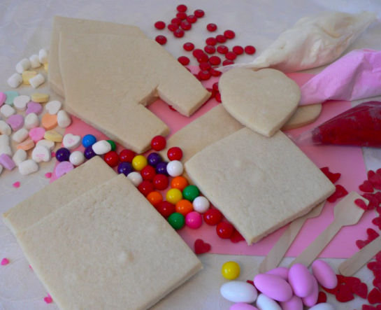 Our Love Shack Decorating Kit will add some variety to this years Valentine's