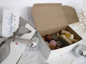 Yours Truly Holiday Dessert boxes