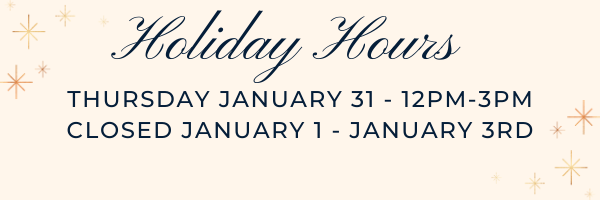 Yours Truly Holiday Hours