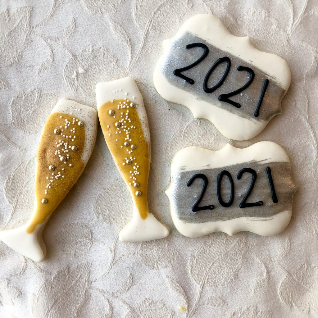Royal Icing Cookies for your 2021 celebrations