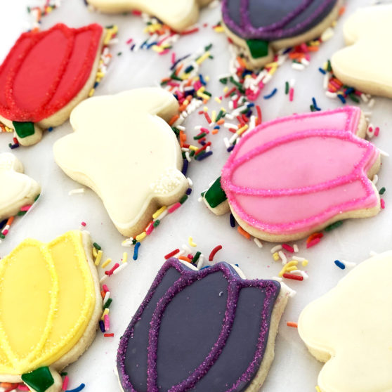 Spring Celebration Cookies