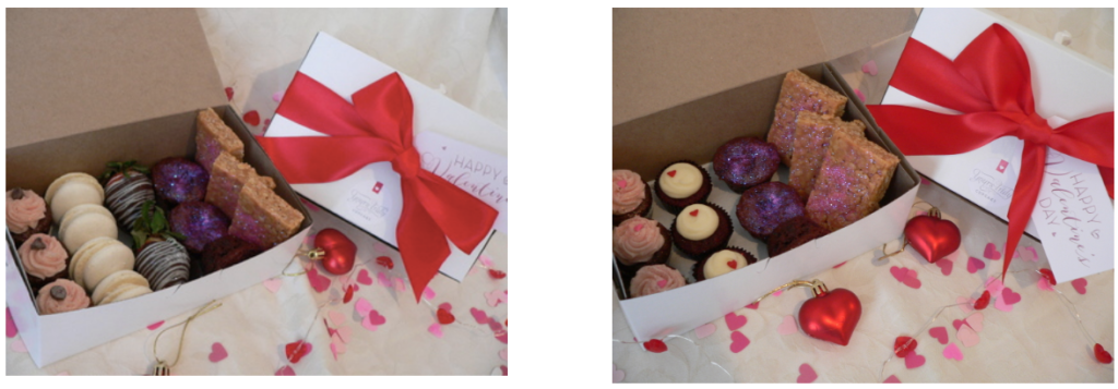 Vegan and Gluten Free Boxes available for your Valentine.